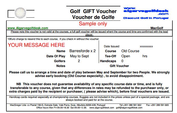 Gift Voucher Template 5941