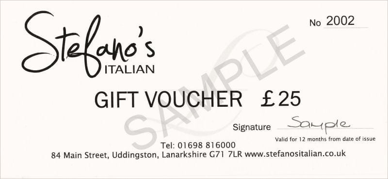 Gift Voucher sample 2641