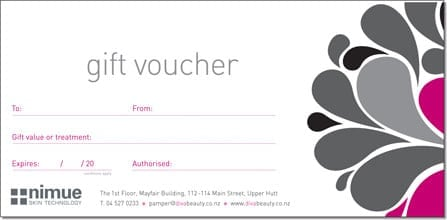 Gift Voucher sample 3641