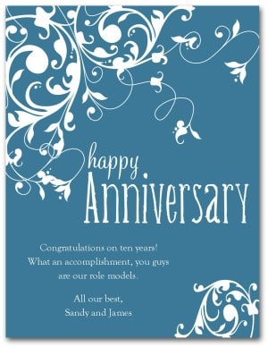 Happy Anniversary Card 3641s