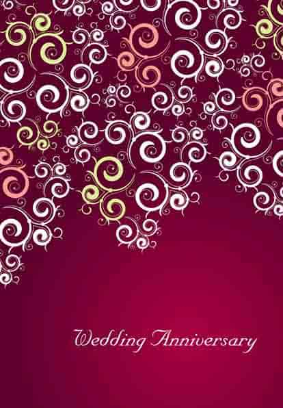 Happy Anniversary Card 5941