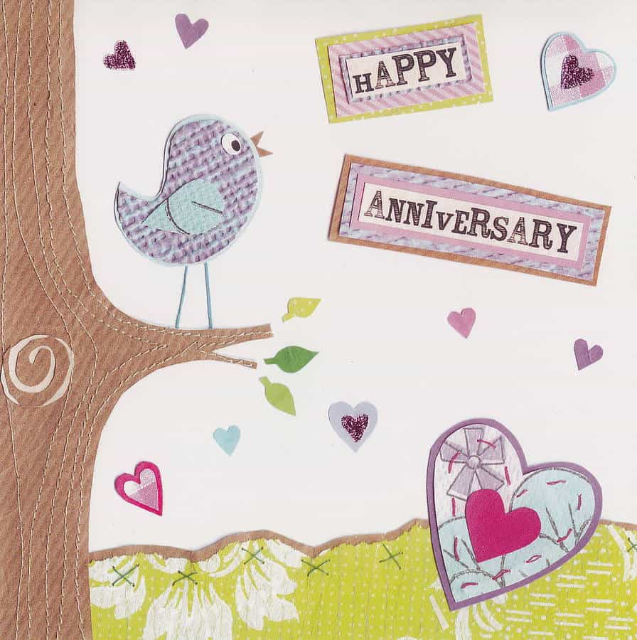 Happy Anniversary Card example 27.678