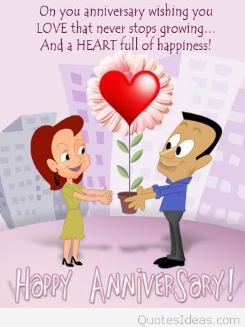 Happy Anniversary Card example 29641