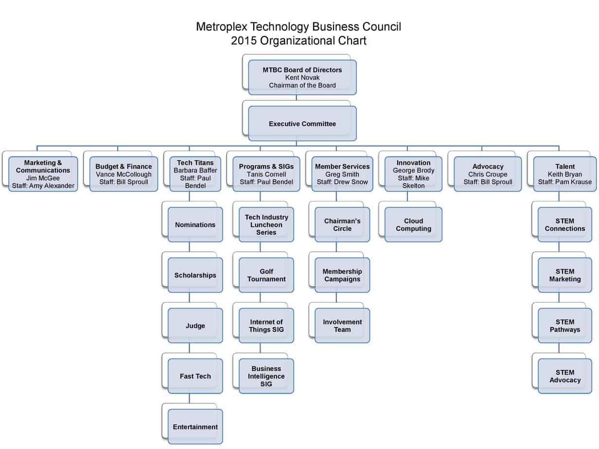 Organization Chart sample 87941