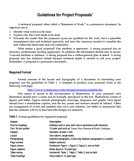 Project Proposal Template 3641
