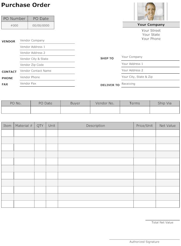Purchase Order sample 33