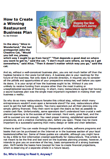 Restaurant Business Plan example 21.964