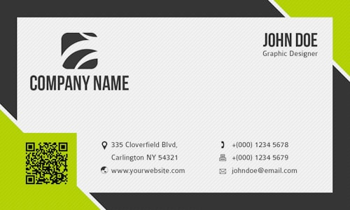 Visiting Card Template 791