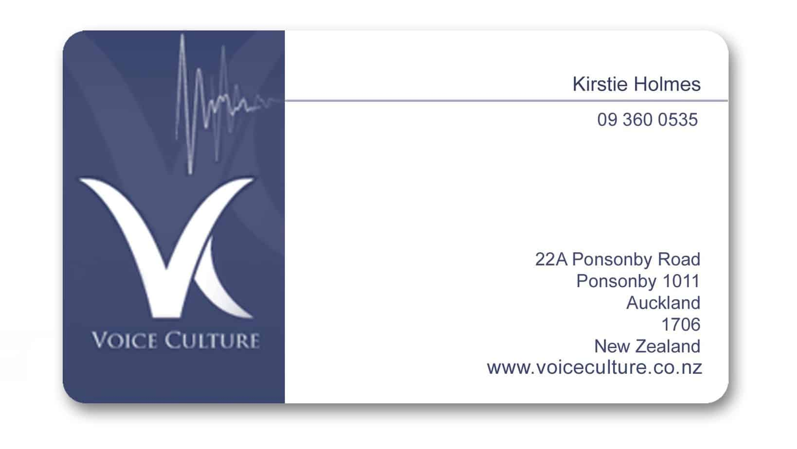 Visiting Card example 21.6541