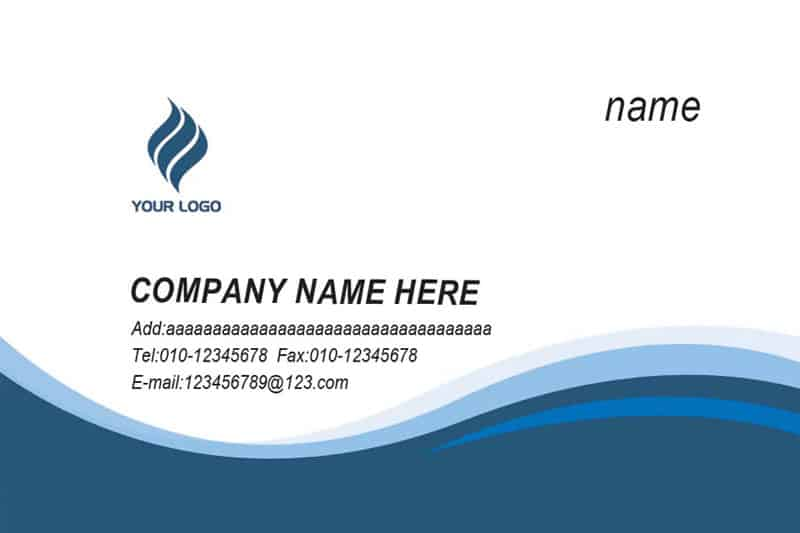 Visiting Card example 7941