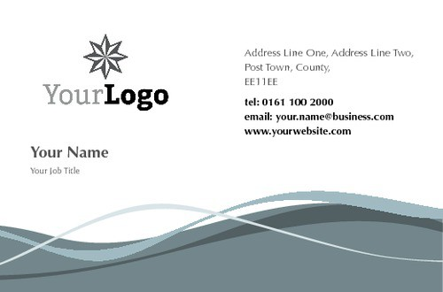 Visiting Card example 8964