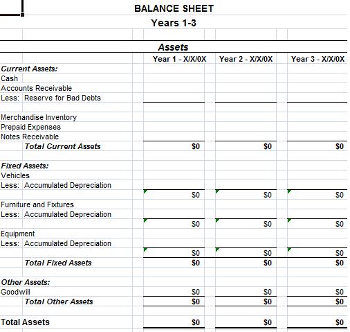 balance sheet template 594