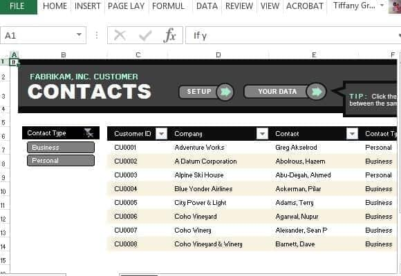 contact list sample 16.61