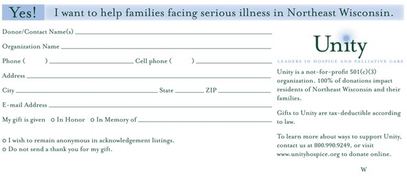 donation form example 2941