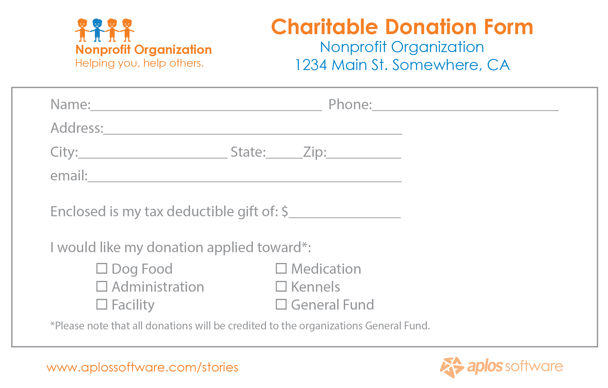 donation form template 10.9641