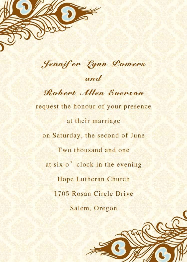 free invitation sample 974