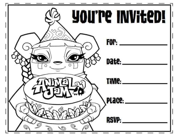free invitation template 24