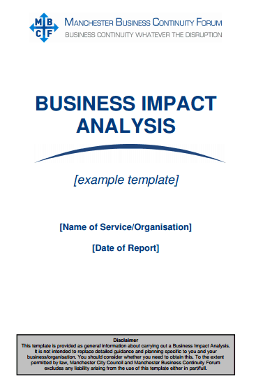impact assessment template 49741