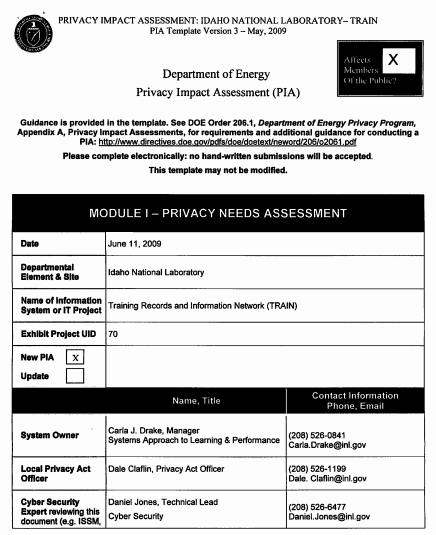impact assessment template 6941