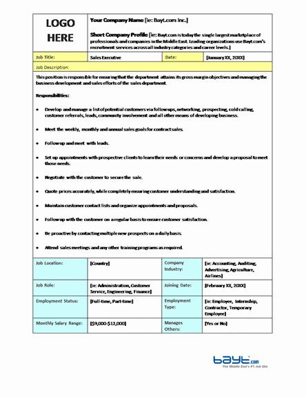 job description sample 594