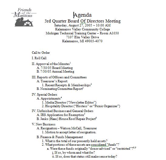 meeting agenda format 49641