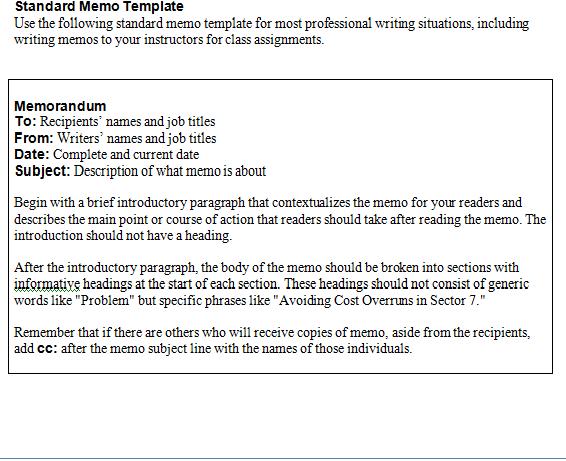 memo template 1541