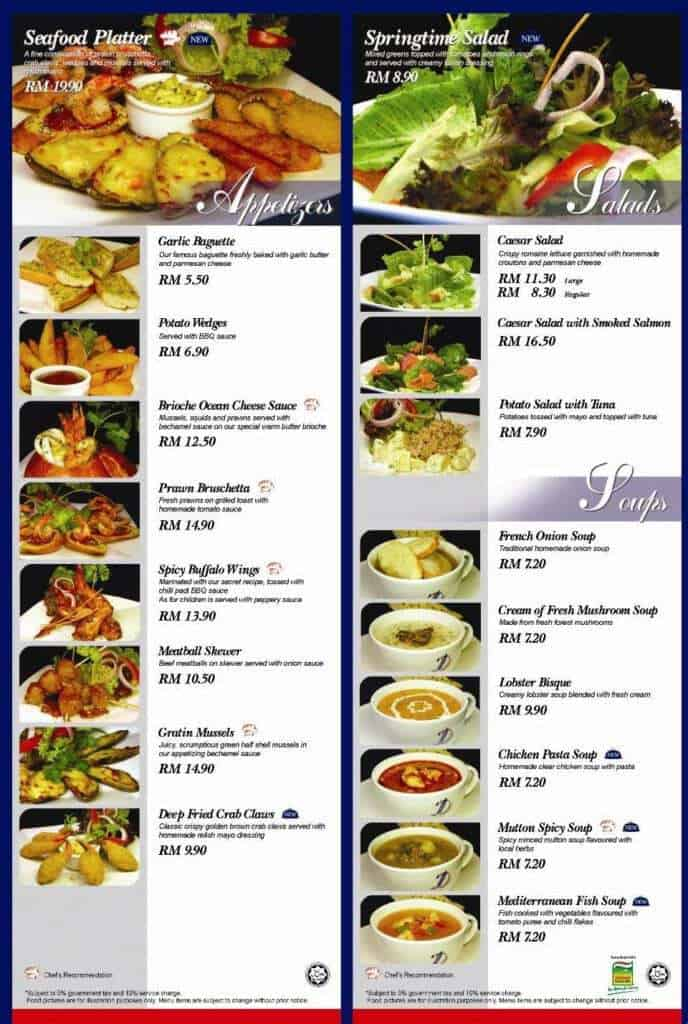 menu sample 14.641