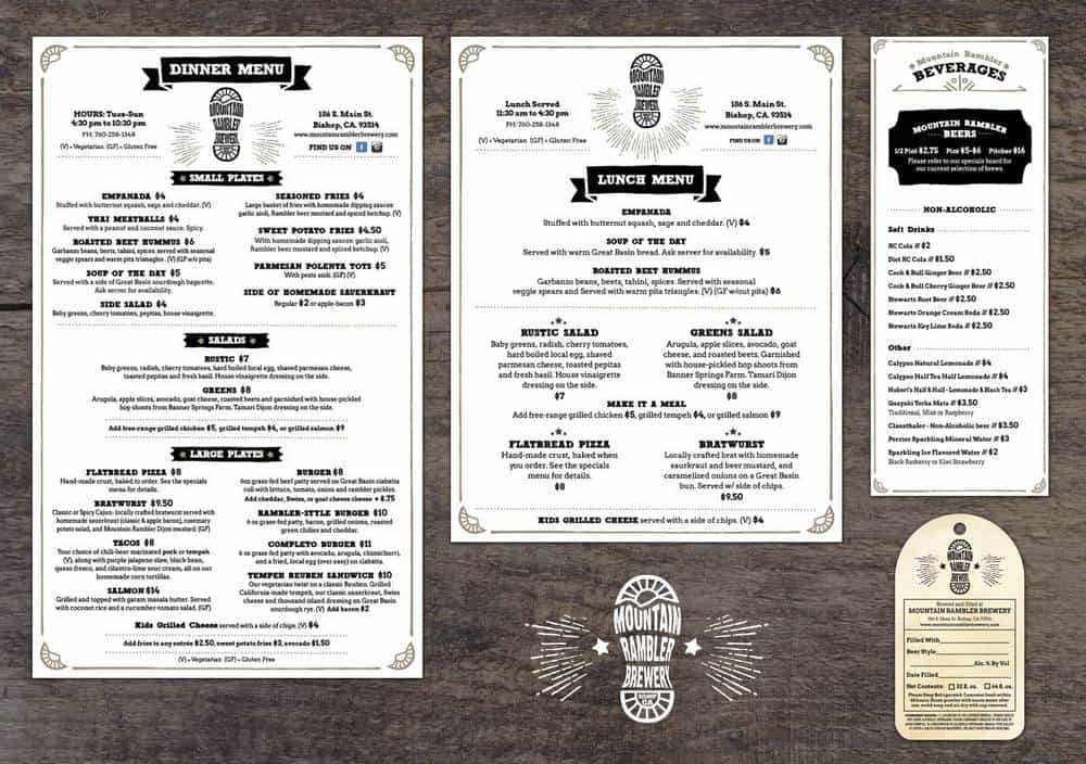 menu sample 29641
