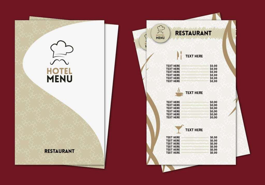menu sample 941