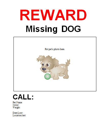 missing poster 1641