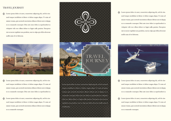 pamphlet template 5641