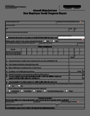 progress report sample 10.461