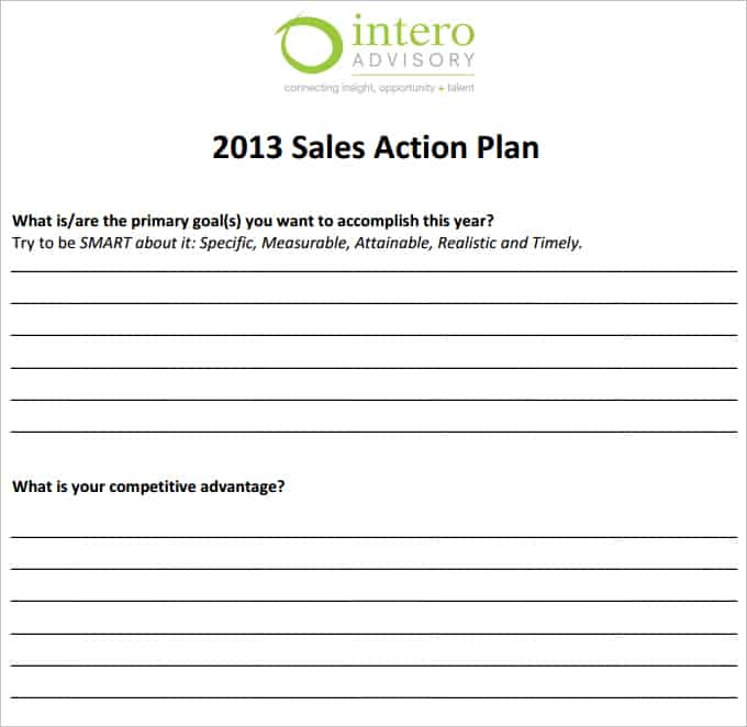 sales plan template 1