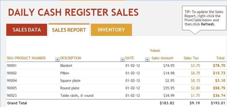 sales report sample 11.941