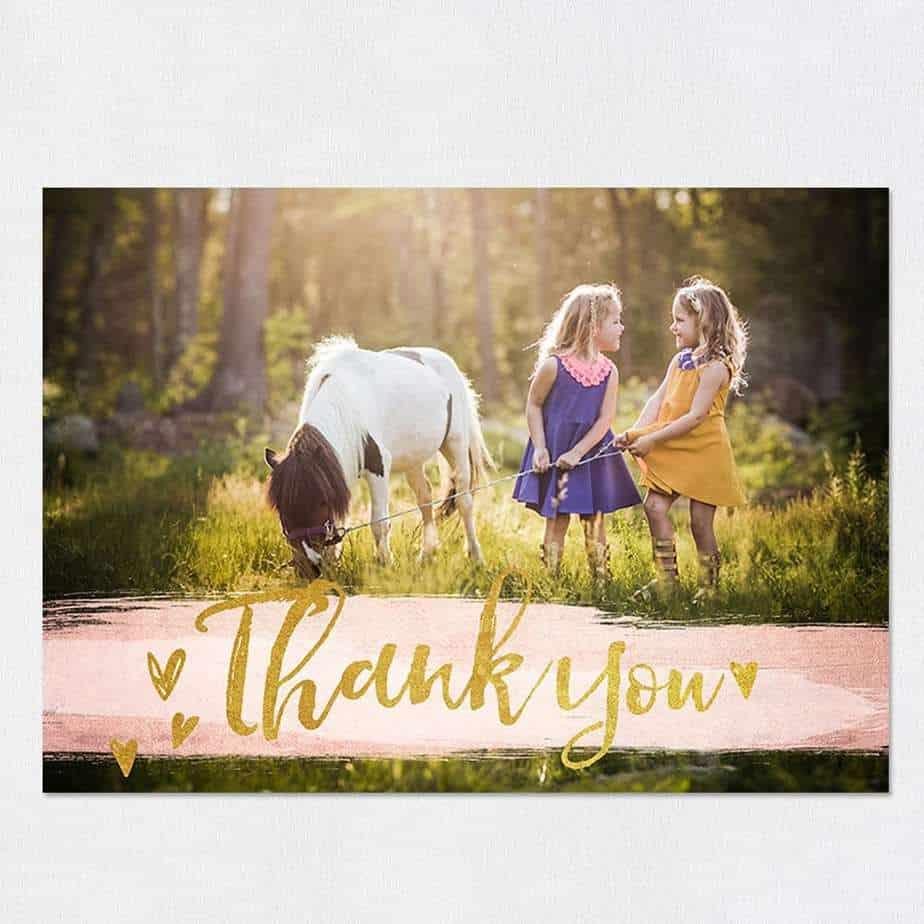 thank you card sample 6941