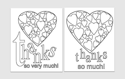 thank you card template 7461