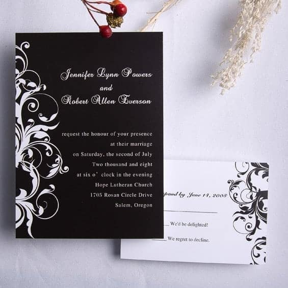 wedding invitation sample 18.641