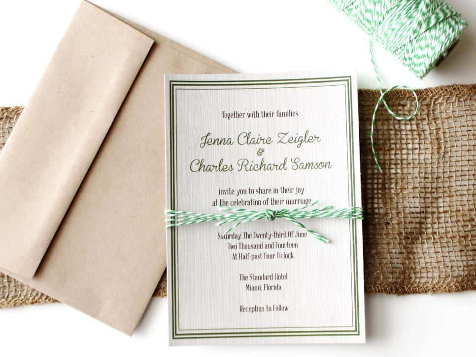 wedding invitation template 59741