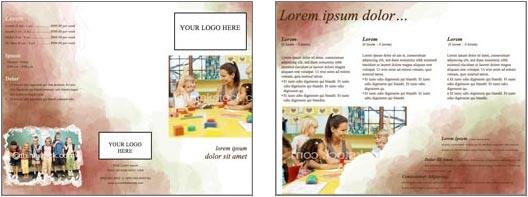 word brochure format 2+941