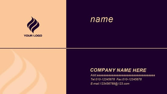 name card sample 12.641