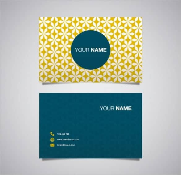 name card template 5941