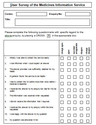 sample survey template 1641