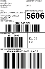 shipping label sample 16.41